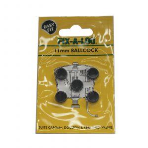 Fix-A-Tap Ballcock Washers 11mm Suits Caroma Doulton & Reba Inlet Valves 226310
