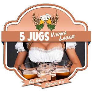 5 Jugs Vienna Lager All Grain Recipe Kit Suits Grainfather Home Brew