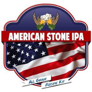 American Stone IPA All Grain Recipe Kit Suits Grainfather Malt Home Brew