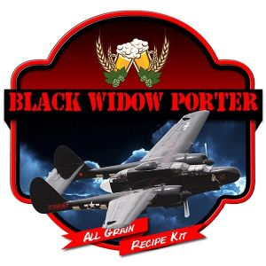 Black Widow Porter All Grain Recipe Kit Suits Grainfather Home Brew