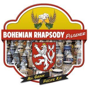 Bohemian Rhapsody Pilsner All Grain Recipe Kit Suits Grainfather Home Brew