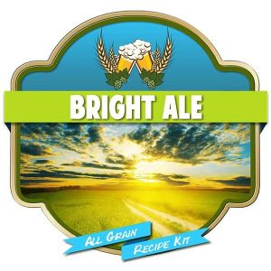 Bright Ale All Grain Recipe Kit Suits Grainfather Malt Home Brew Beer