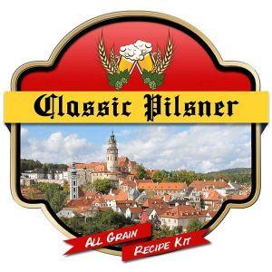 Classic Pilsener All Grain Recipe Kit Suits Grainfather Home Brew