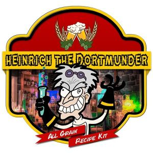 Heinrich The Dortmunder All Grain Recipe Kit Suits Grainfather Home Brew
