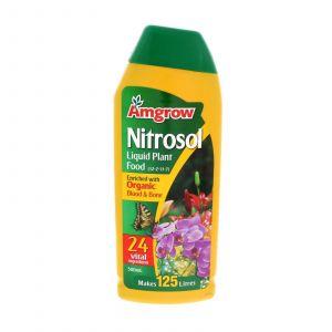 Nitrosol Organic Liquid Plant Food Concentrate Makes 125L Amgrow 500ml