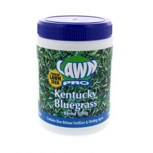 Grass Seed Kentucky Bluegrass Blend Contains Slow Release Fert. 500g Lawn Pro