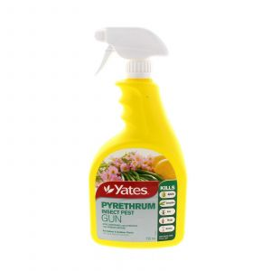 Pyrethrum Insect Gun Ready To Use Aphids Caterpillers Ants Thrip etc Yates 750ml