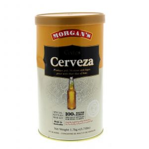 Morgans Cortes Cerveza Ingredient Can Home Brew Beer Mexican Style Lager Yeast