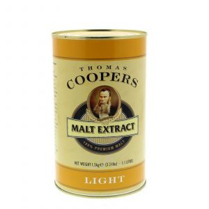Thomas Coopers Malt Extract Light Home Brew Beer Pale Malt Barley Body Flavour