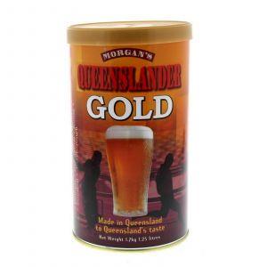Morgans Queenslander Gold Ingredient Can Makes 23L Home Brew Beer