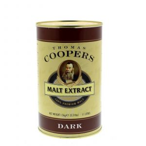 Thomas Coopers Malt Extract Dark Home Brew Beer Pale Roasted Malt Colour Aroma