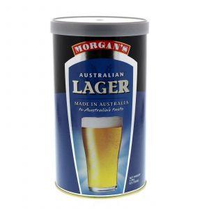 Morgans Australian Lager Ingredient Can Home Brew Beer Includes Yeast Satchet