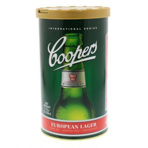 Coopers International Series European Lager Ingredient Can Home Brew