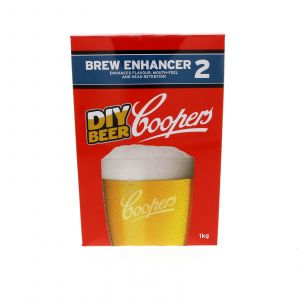 Coopers Brew Enhancer 2 Enhances Flavour Mouth-Feel Head Retention 1kg Home Brew