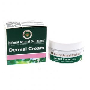 Dermal Cream Dog Cat For Dry Skin Conditions 60g Natural Animal Solutions