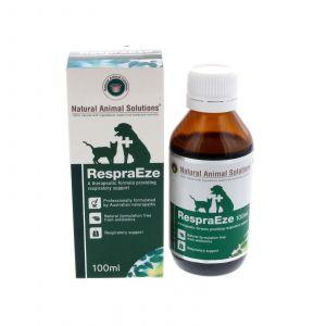 Dog Cat Respiratory Support Respraeze 100ml Natural Animal Solutions