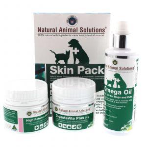 Skin Pack Dog Cat 100% Natural Skin Care Ingredients Natural Animal Solutions