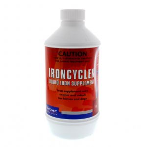 Ironcyclen Iron Supplement IL 1 Litre Vetsearch Horse Equine Health Supplement