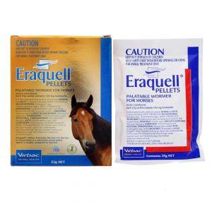 Virbac Eraquell Wormer Pellets Worm Horse Equine 35g Health Strongyles Bloodworm