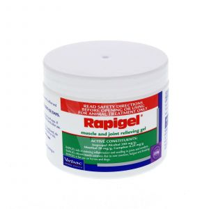 Virbac Rapigel Muscle & Joint Relieving Gel Horse Equine 250g