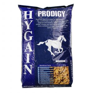 Hygain Prodigy Prebiotic  Natural Vit E Selenium Silicon Horse Feed Food 20kg