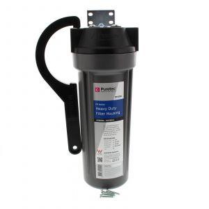 Water Filter Housing 10 Inch Grey 3/4 Inch Heavy Duty Puretec