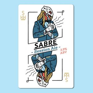 SABRE SESSION ALE Wort Kit All Inn Brewing Co Home Brew Light Golden Hop Aroma