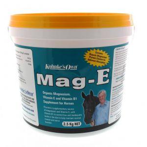 Mag-E 2.5 kg Kohnke's Own Horse Equine Health Supplement