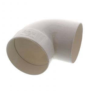 Stormwater Bend Male/Female 90mm x 90 Degree Repair Fitting PVC Irrigation