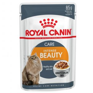 Royal Canin Feline Intense Beauty Gravy 85g Cat Food Wet In Gravy Premium Feed