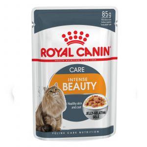 Royal Canin Feline Intense Beauty Jelly 85g Cat Food Wet Jelly Premium Quality
