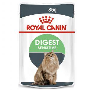 Royal Canin Feline Digestive Gravy 85g Cat Food Wet In Gravy Premium Quality