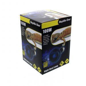 Reptile Night Heat Lamp 100W E27 Screw In Low Light Source Natural Moonlight