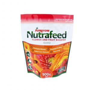 Nutrafeed Flower and Fruit Booster (11-2-33-1) Makes up to 500L Amgrow 500g