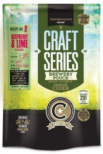Raspberry & Lime Brewery Pouch 2.4kg Mangrove Jacks Home Brew