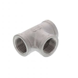 Stainless Steel Tee 1/2 Inch BSP Home Brew Beer Fitting Replacement Part Brewing