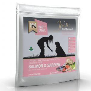 Meals For Mutts Dog Grain Free Salmon & Sardine 2.5Kg Hypoallergenic Gluten Free