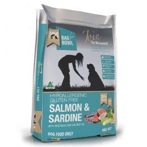 Meals For Mutts Dog Gluten Free Salmon & Sardine 9Kg Gluten Free Healthy Diet