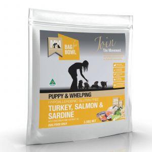 Meals For Mutts Puppy Turkey & Salmon 2.5Kg Hypoallergenic Gluten Free Food