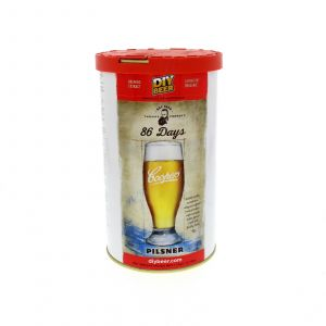 86 Days Pilsner Thomas Coopers Home Brew Beer Cooper Golden Colour Refreshing