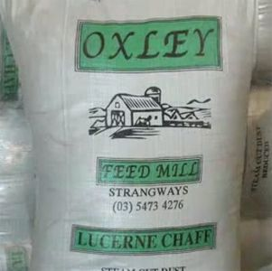 Lucerne Chaff Oxley Feed Mill