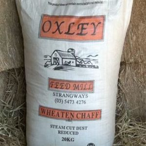 Wheaten Chaff 20Kg Oxley Feed Mill