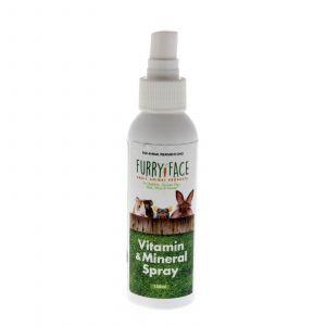 Furry Face Vitamin & Mineral Spray 125ml Rabbit Guinea Pig Australian Made