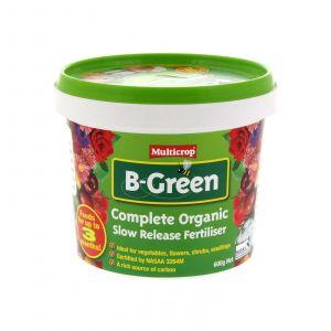 B-Green Organic Slow Release Fertiliser 600g 100% NASAA Certified Healthy Plants