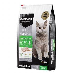 Black Hawk Holistic Cat Food Chicken & Rice 15kg Holistic Australian Made