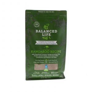 Balanced Life Kangaroo 1kg Dog Food Gluten Grain Free Prebiotics Air Dried