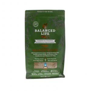 Balanced Life Salmon 1kg Dog Food Gluten Grain Free Prebiotics Air Dried