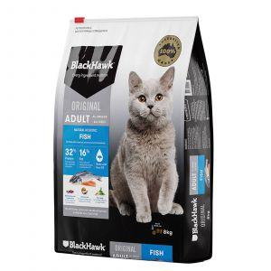 Black Hawk Holistic Cat Food Seafood & Rice 8kg Holistic Australian Made Premium