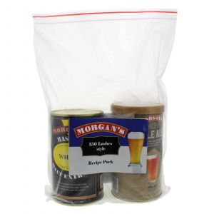 Morgans Recipe Pack 150 Lashes Style All In One Beer Brewing Home Brew