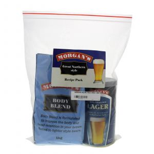 Morgans Recipe Pack Great Northern Style All In One Beer Brewing Home Brew